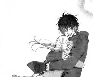 manga, anime, and tonari no kaibutsu-kun image