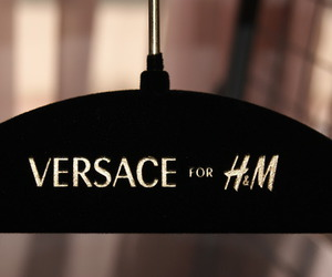 fashion, Versace, and H&M image