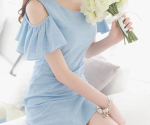 dress, fashion, and korean image