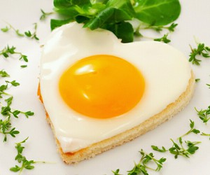 egg, food, and heart image