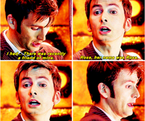 david tennant, doctor who, and heartbreaking image