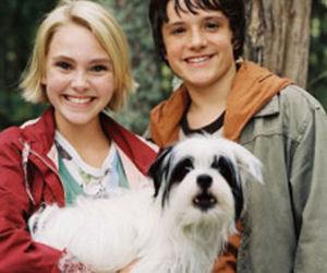 Annasophia Robb, dog, and josh hutcherson image