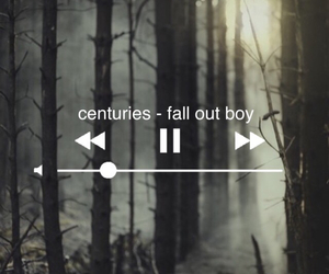 bands, fall out boy, and music image