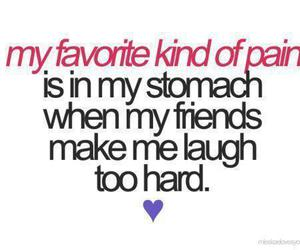 friends, laugh, and pain image