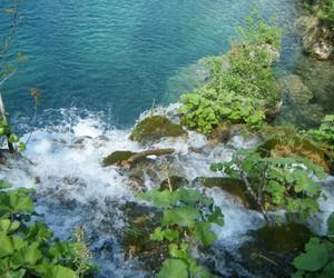 Croatia, waterfall, and plitvice park image