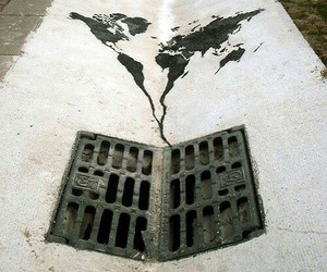 world and art image