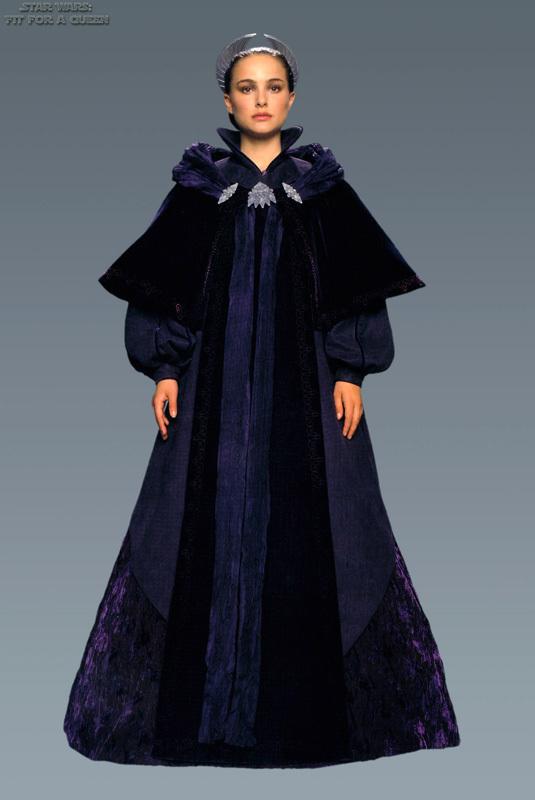 Star Wars Padme Episode 3 Dress Google Search
