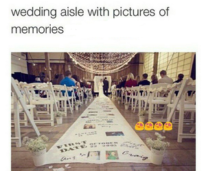 wedding, memories, and couple image
