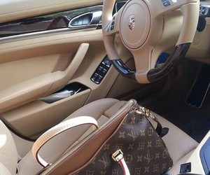 bag, car, and Louis Vuitton image