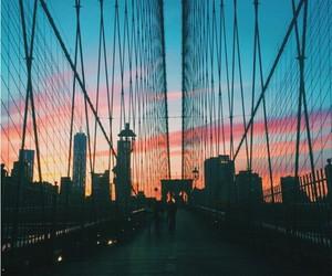 bridge, building, and usa image