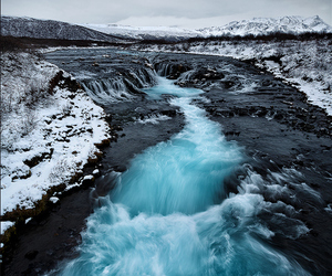 water, blue, and nature image