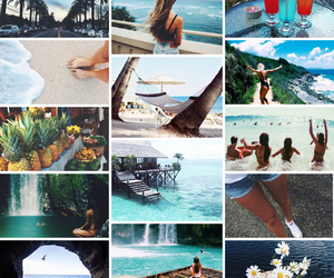 beach, beauty, and holidays image