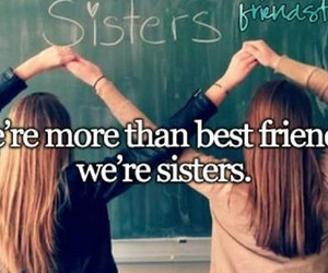 best friends and sisters image