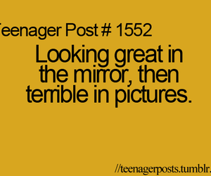 teenager post, mirror, and picture image