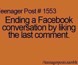 facebook, teenager posts, and quote image