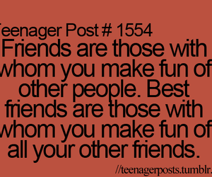 teenager posts, friends, and funny image