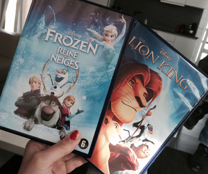disney, frozen, and movies image