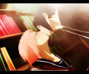 anime, love, and kiss image