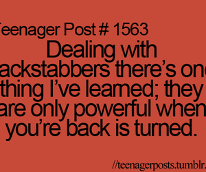 quote and teenager posts image
