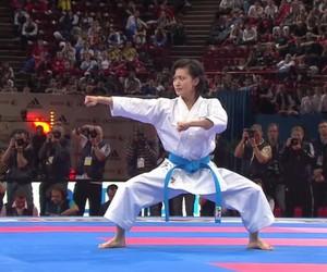 karate, kata, and ao image