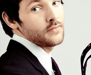blue, colin morgan, and merlin image