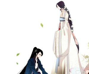 hanbok, korean, and manga image