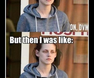 funny, kristen stewart, and emotions image