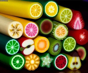 fruit, sweet, and candy image