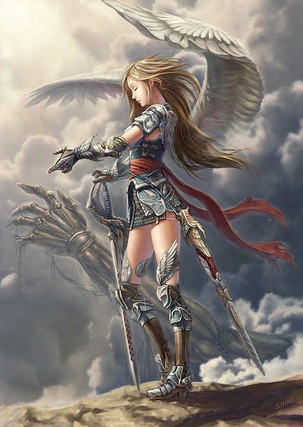 Fantasy Art Rune Knight
