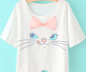 aristocats, bow, and cat image
