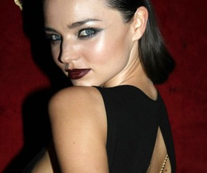 beautiful, make up, and miranda kerr image