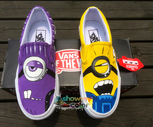 vans and minions image