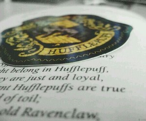 hufflepuff, harry potter, and book image
