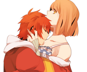 couple, hug, and ittoki otoya image