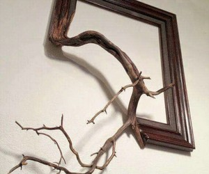 art, frame, and nature image