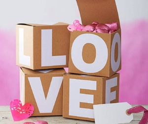 valentine, box, and gift image