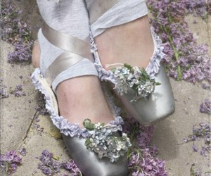 ballerina, ballet shoes, and cute image
