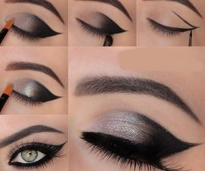 beauty, eyes, and gris image