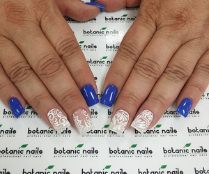 manicure, nails, and nail design image