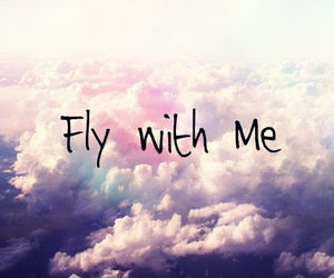 fly, sky, and me image