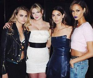 cara delevingne and models image