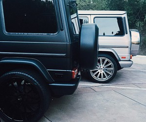 car, black, and kylie jenner image