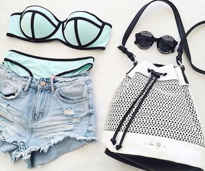accessories, bikini, and fashion image