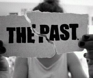 past, black and white, and the past image