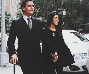 couple, love, and kourtney kardashian image