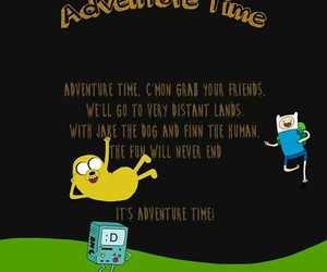 intro and adventure time image