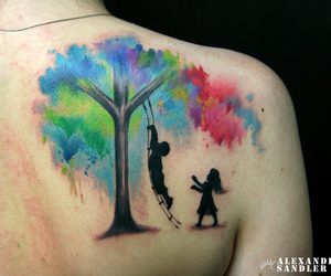 colours, lovely, and tatto image