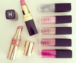 lipstick, nars, and chanel image
