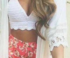 blonde, hair, and clothes image