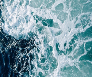 ocean, beautiful, and blue image